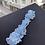 Thumbnail: Wide Blue Lace Garter