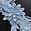 Thumbnail: Blue Flower Lace Garter