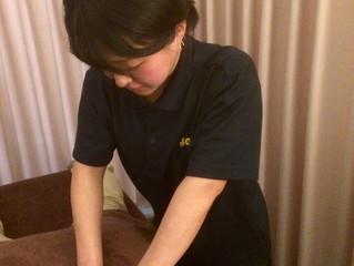 注目新人施術士 松瀬さんのご案内です♪