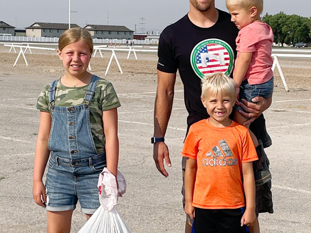 """COMMUNITY – """"Many hands make…clean fairgrounds!"""""""