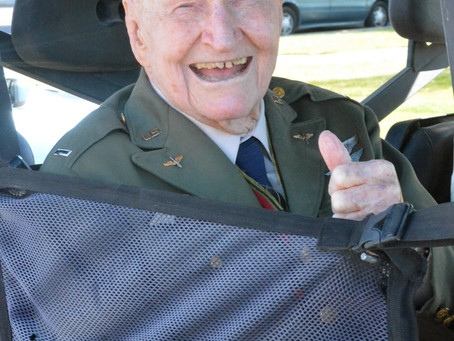 """NEWS – """"A historic 100th birthday for a local hero"""""""