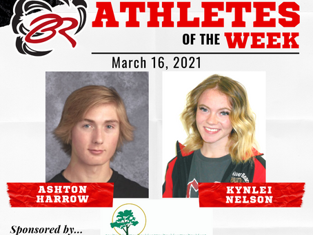 HEADLINER ATHLETES OF THE WEEK – March 16, 2021