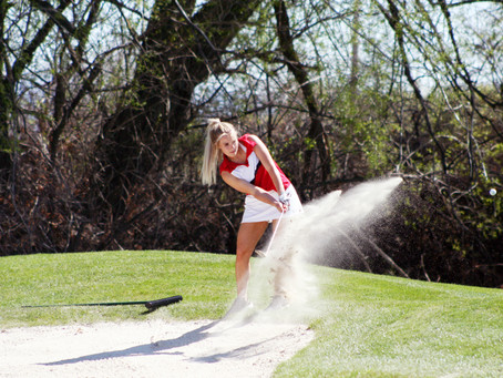 "SPORTS - ""Lady Bears heading into the last two weeks of the golf season"""