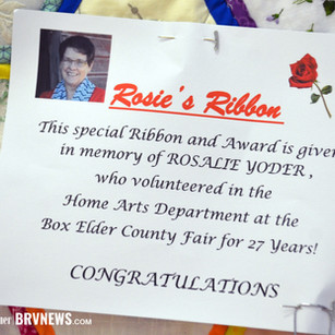"""FEATURE - """"Rosie's Ribbon keeps fair memories going while honoring a loved one"""""""