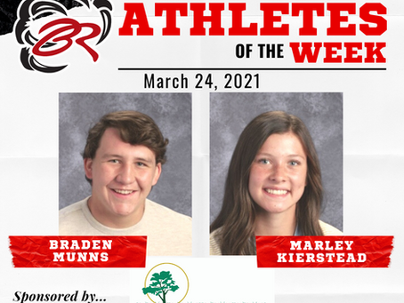 HEADLINER ATHLETES OF THE WEEK – March 24, 2021