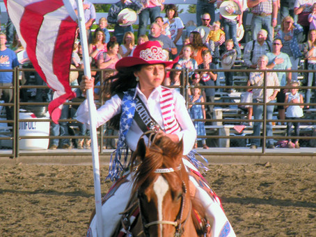 """COMMUNITY - """"Plymouth Rodeo full of patriotism and competition"""""""
