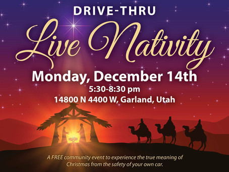 """FEATURE – """"Community comes together for live nativity experience"""""""