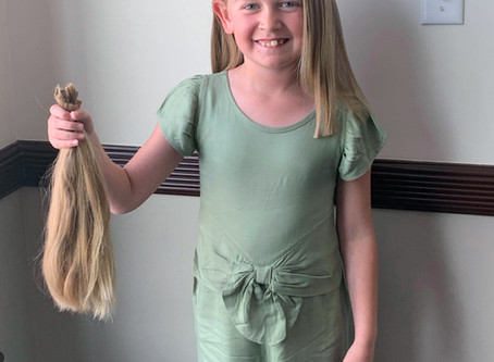 "FEATURE - ""Donating happiness and confidence one inch of hair at a time"""
