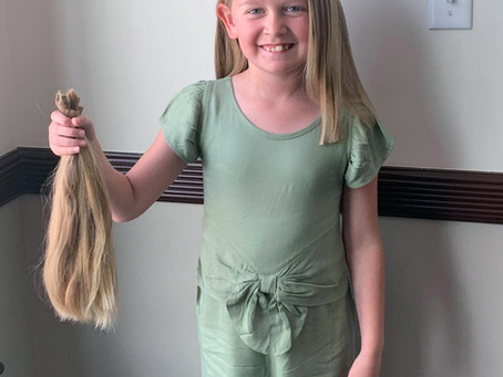 """FEATURE - """"Donating happiness and confidence one inch of hair at a time"""""""