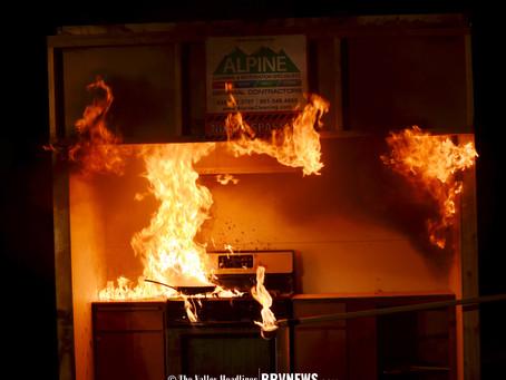 """NEWS – """"Tremonton Fire Dept. hosts kitchen fire safety demonstration"""""""