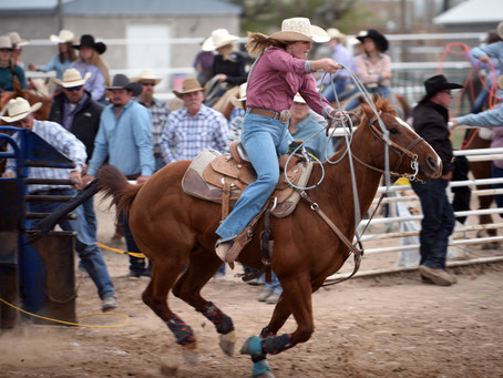 "SPORTS - ""Gearing up for Utah's High School Rodeo Association's state finals"""