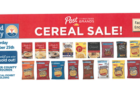 """NEWS - """"Annual Post Cereal sale set for September 25, in Tremonton"""""""