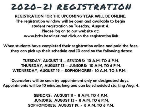 SCHOOL - Bear River High School 2020-21 registration