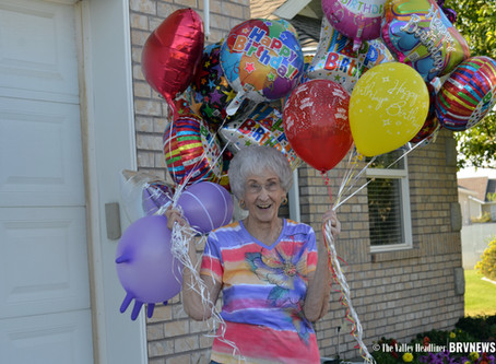"FEATURE - ""Celebrating 96 years of spunk for one Garland woman"""