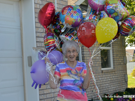"""FEATURE - """"Celebrating 96 years of spunk for one Garland woman"""""""