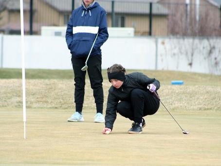 "SPORTS – ""Bear River High girls' golf team swings into the 2021 season"""