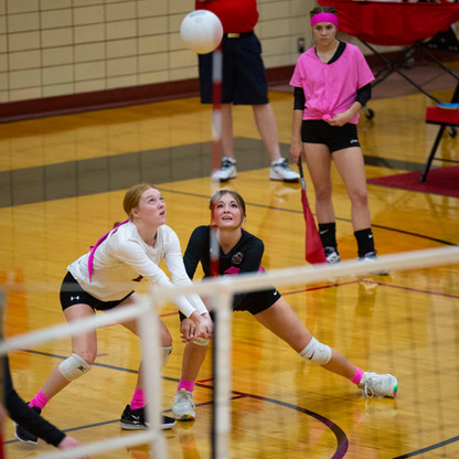 """SPORTS - """"Volleyball nets a couple of big wins in region play"""""""