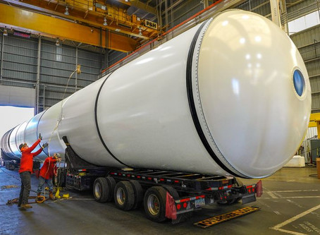"""NEWS – """"Northrop Grumman and NASA donate shuttle boosters to California Science Center"""""""