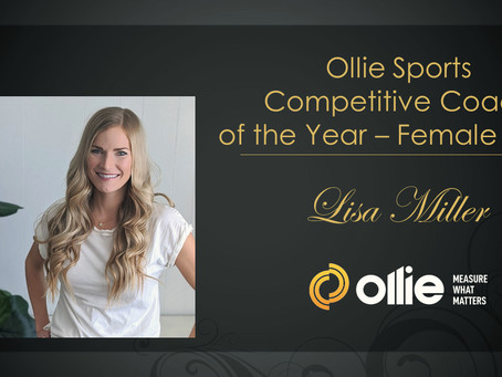 """SPORTS - """"Lisa Miller named Coach of the Year"""""""
