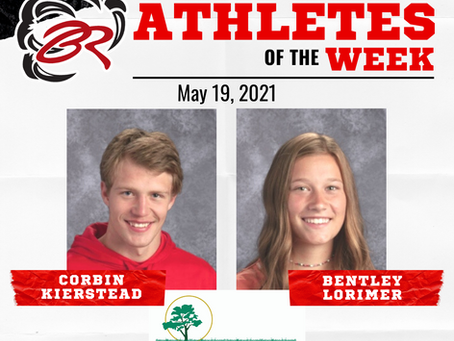 HEADLINER ATHLETES OF THE WEEK – Corbin Kierstead and Bentley Lorimer
