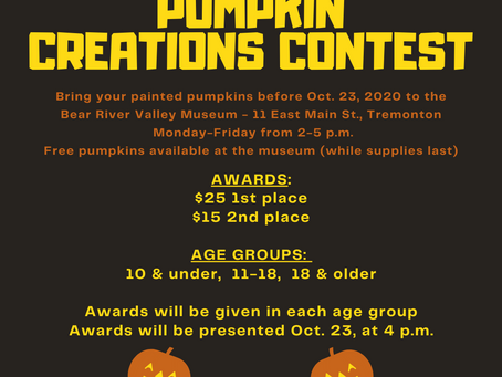 """COMMUNITY - """"Museum hosting a free pumpkin painting contest"""""""