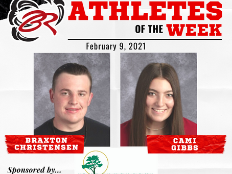 HEADLINER ATHLETES OF THE WEEK – Braxton Christensen and Cami Gibbs