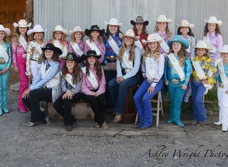 """COMMUNITY - """"2020 Golden Spike Rodeo royalty here to represent"""""""