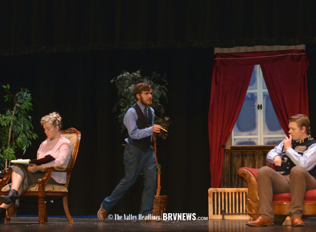 """SCHOOL - """"Murder, mystery and no live audience; How Bear River High is bringing back The Mousetrap"""""""