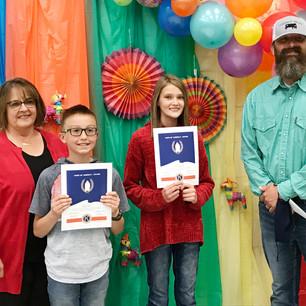 "SCHOOL – ""Garland Elementary names their 2021 Hope of America Award recipients"""