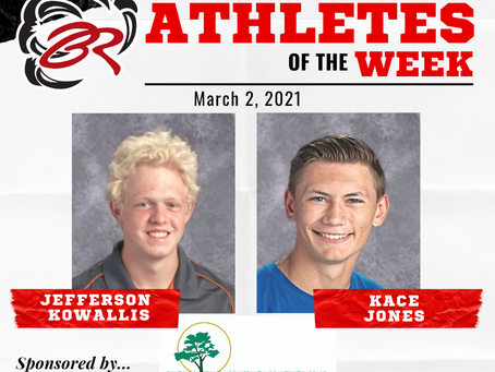 HEADLINER ATHLETES OF THE WEEK – March 2, 2021