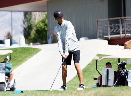 "SPORTS - ""Giles takes first at Logan River Golf Course"""
