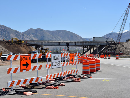 "NEWS - ""I-15 construction near Brigham City expected through October 2021"""