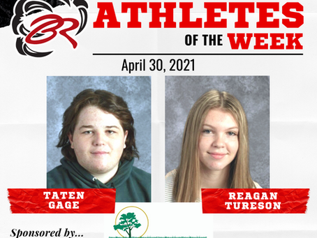 HEADLINER ATHLETES OF THE WEEK – April 30, 2021