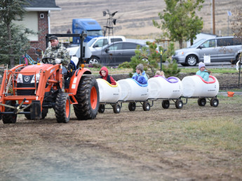"COMMUNITY - ""Evans Acres Mini Farm hosts annual fall festival"""