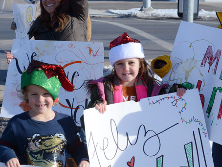 """COMMUNITY - """"Spreading Christmas cheer for all to hear"""""""