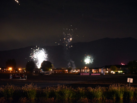 """NEWS - """"Lots of fireworks but safety prevails"""""""