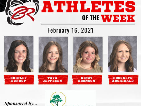 HEADLINER ATHLETES OF THE WEEK – February 16, 2021