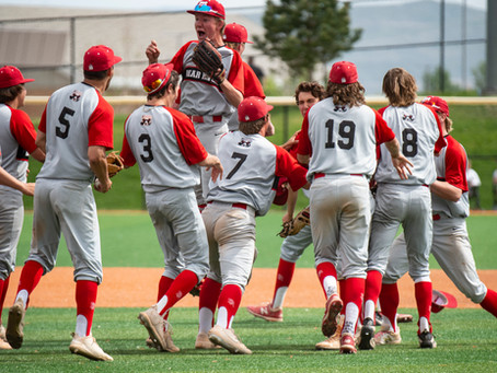 "SPORTS – ""Bears defeat top seed in 4A state baseball tournament"""