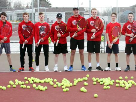 "SPORTS – ""Bear River High boys' tennis begins the 2021 season in stride"""