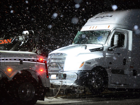 """NEWS - """"Winter weather hampers road conditions in Box Elder County"""""""