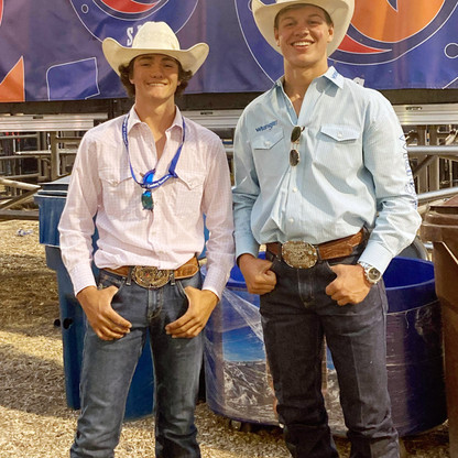 """SPORTS - """"Tyson Hirschi and Darien Johnson win big at the Days of '47 Rodeo"""""""