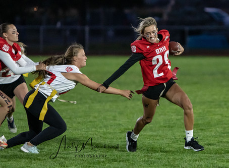 "SPORTS - ""Seniors rule the field in 2020 powderpuff game"""