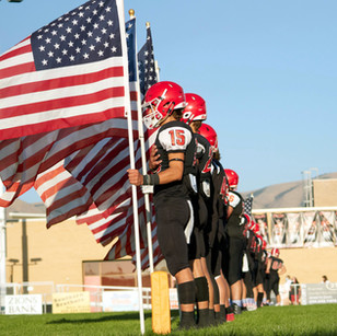 """SCHOOL – """"'We needed togetherness. We needed community' - patriotism on the football field"""""""