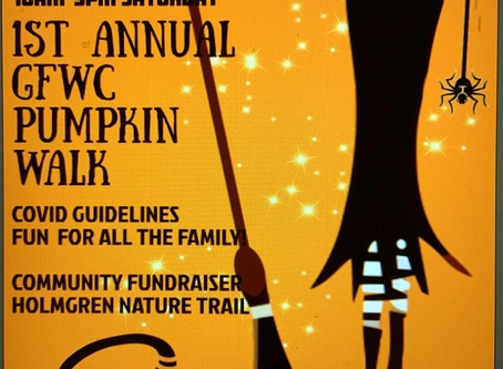 """COMMUNITY – """"Walk among the pumpkins at The Holmgren Nature Trail"""""""