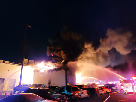 """NEWS – """"Fire at West Liberty Foods forces evacuations; injuries reported"""""""