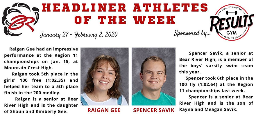 Headliner Athlete of the Week 1-27-20.jp