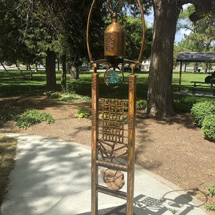 """FEATURE – """"Let freedom ring; City commissions work for two sculptures"""""""