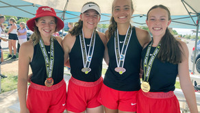 """SPORTS - """"Lady Bears gain traction on the tennis court"""""""