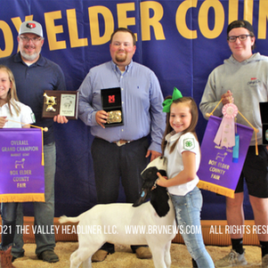 "BOX ELDER COUNTY FAIR - 2021 BEJL Market Goat Show: ""Krimsyn Rees takes home Grand Champion!"""