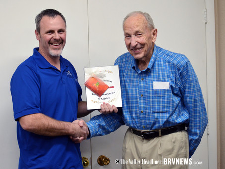 """NEWS – """"Garland City man honored for years of service to his community"""""""